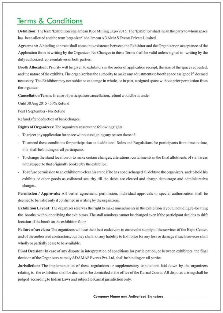 Download Registration Form – Rice Milling Expo, Karnal